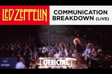 led zeppelin bad communication in a relationship